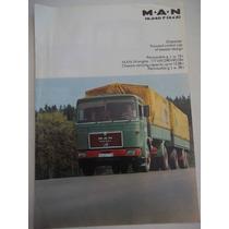 Brochura De Venda Caminhões Man 19.240 4x2