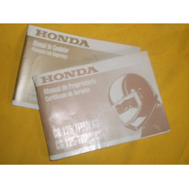 - Honda Cg 125 Titan Ks/es - Ano 2000-manual Do Propriet.