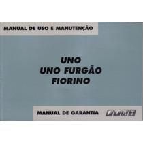 Manual Proprietario Uno Mille Ou Fiorino 2003 2004 Mod. Anti