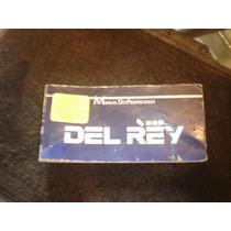 Del Rey Ford Manual Do Proprietario Original