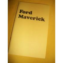 Maverick -1974- Manual Do Proprietário -ford-usa-
