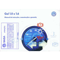 Manual Proprietario Gol 1.0 Ou 1.6 G3 2003 C/suplementos