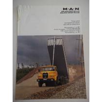 Brochura De Venda Caminhões Man 26.240 Dht Dhat 6x4 6x6