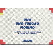 Manual Do Proprietario Fiat Uno Ou Fiorino 2002