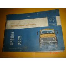 Manual Instruções Caminhões Médios E Semi-pesados Mb - 1987