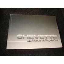 Chevette Manual Do Proprietario Original