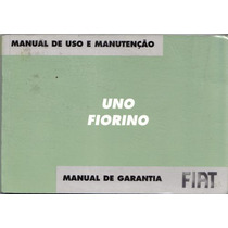 Manual Do Proprietário Do Fiat Uno Ou Fiorino 2005