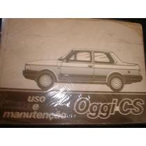 Oggi-cs 1983 Fiat A Primeira Manual Do Proprietario Original