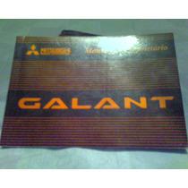 Manual Do Proprietário Mitsubishi Galant Para Os Anos 95/97