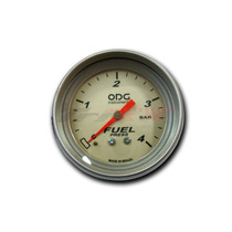 Manômetro Pressão De Combustível 4kg Odg Silicone 66,7mm