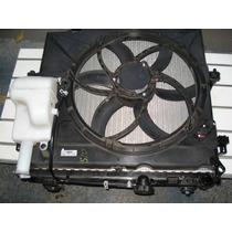 Kit Radiador Condensador Ventuinha E Suporte Da S10 2013 Gas