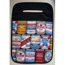 Lixo Lixinho Lixeira Para Carro Estampa Latinhas De Cerveja