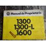 Manual Do Prorietário Fusca 1979 1300 L 1600 Original