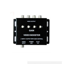 Amplificador Video Carro Booster 1x4 Dvd Lcd Tvrca Splitter