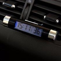 Relogio Termometro Veicular Automotivo De Painel Pronta Entr