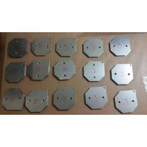 Aço Inox 316l 120x120x1mm (15 Placas) Gerador Hidrogênio Hho