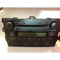 Radio/som Original Do Corola Automático 2011 (2008 A 2012)