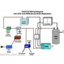 Projeto Gerador Hidrogênio Kit Gás Hidrogenio Para Carro