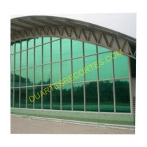 Rolo Insulfilme Pelicula Verde Refletivo 7,5x1,50 Mts