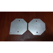 Aço Inox 316l 110x110x1mm Gerador Hidrogênio Hho Economia