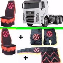 Capa Banco+painel+tapetes Caminhão Costelattion Fret Gratis*