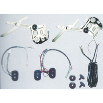 Kit Completo Vidro Elétrico S10 Cabine Dupla-blazer Dianteir