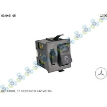 Interruptor Farol Reostato Mercedes Ônibus Caminhão - Kostal