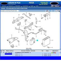 Fechadura D Porta Dianteira Esquerda Focus 03a09