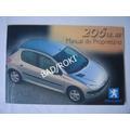 Manual Proprietário Peugeot 206 1.0 16v 2001 2002 2003