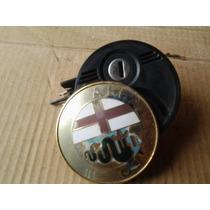 Emblema E Fechadura Tampa Tras. Alfa Romeo 164 94 Desbotado)