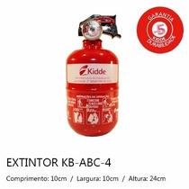 Extintor Veicular Abc Automotivo 5 Anos 4 Gordinho Baixinho