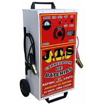 Carregador Baterias De Auto 50ah Jts Profissional + Auxiliar