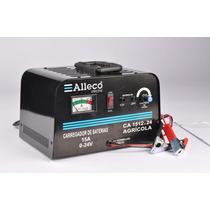 Carregador De Bateria Ca1512x24 12/24v 15a Agricola Bivolt -