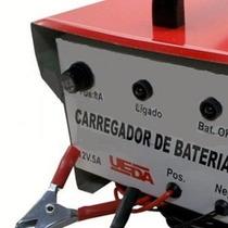 Carregador De Bateria ( 12v 5a 220v ) Ref:9022