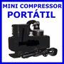 Mini Compressor Ar Automotivo 12v Psi 250 Pneu Bola Bike Etc
