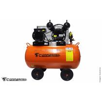 Compressor De Ar Pistão 2hp 100 Litros 220v Compbrasil