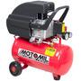 Compressor De Ar Motomil Mam 7,4/24 24litros 120lbs C/ Roda