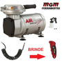 Motocompressor De Ar Silver 2,3 + Kit Air Plus Bivolt Schulz
