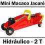 Macaco Hidráulico Tipo Jacaré 2 Toneladas Com Maleta 5iz Eda