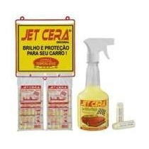 Cera Líquida Automotiva - Jet Cera (10 Sachet)