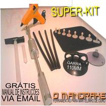 Kit Repuxadeira Martelinho De Ouro+ventosas+cola+apl.+martel