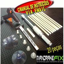 Kit Repuxadeira Martelinho De Ouro+ventosas+cola+aplicador