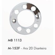 Calota Dianteira Bepo 8 Furos Aro 20 Mb 1113 (par)