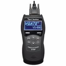 Scanner Automotivo Maxiscan Vs890 Obd2 Portug Gas/flex/di Pe