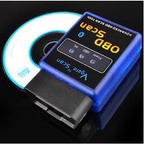 Scanner Automotivo Obd2 Bluetooth Versão 2015- Frete Gratis