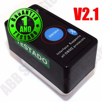 Scanner Diagnostic Carro Obd2 Bluetooth On/off -frete Gratis