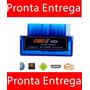 Mini Scanner Carros Obd2 Bluetooth V2.1 Elm Obd Celular