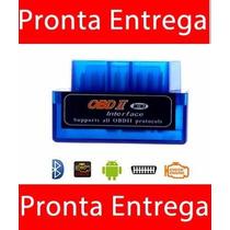 Mini Scanner Carros Obd2 Bluetooth V2.1 Elm Obd Elm327 Elm
