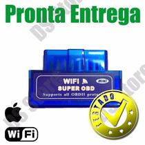 Scanner Diag. Carro Obd2 Wifi Mini Iphone Ipad - Promoção