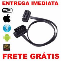 Cabo Extensão Scanner Diag Obd2 Bluetooth Wifi -frete Gratis